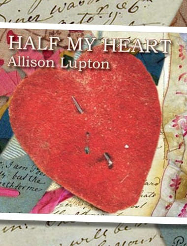 Album cover Half My Heart Allison Lupton